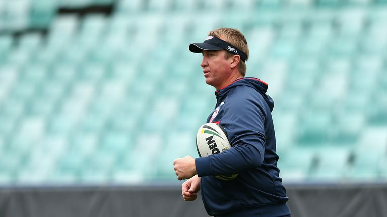 Sydney Roosters head coach Trent Robinson