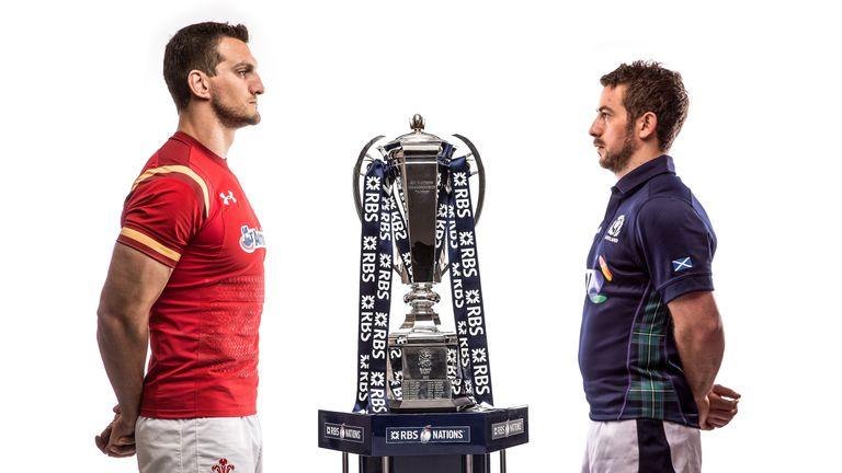 Sam Warburton and Greig Laidlaw go head-to-head in Cardiff on Saturday