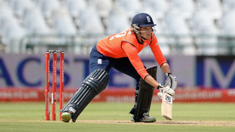 Sarah Taylor hit a third straight fifty in the series in England's win