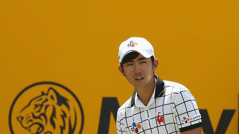Lee looked set to win in Malaysia until he double-bogeyed two of the last three holes