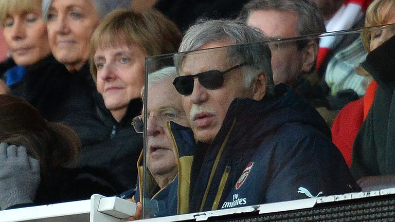Arsenal owner Stan Kroenke is an increasingly unpopular figure with Arsenal's hardcore support