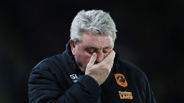 Hull City manager Steve Bruce has seen his team score just one goal in their last six games