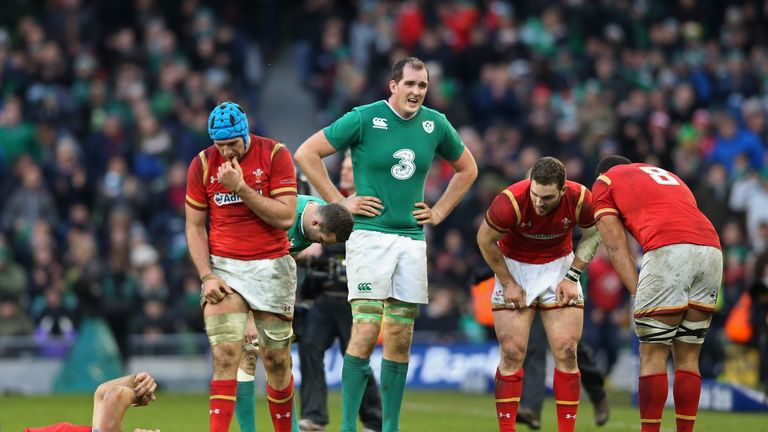 Ireland and Wales drew 16-16 in the Six Nations in Dublin last February