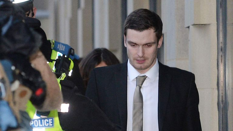 Adam Johnson served three years of a six-year prison sentence