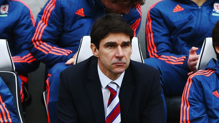 Aitor Karanka did not take charge of Middlesbrough against Charlton but could yet stay at the club