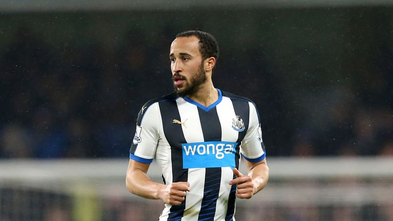 Newcastle United winger Andros Townsend is close to joining Crystal Palace