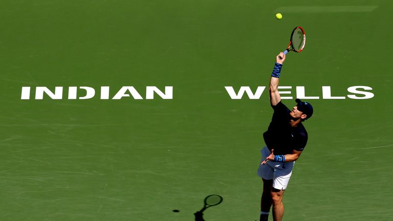 Andy Murray is looking for a win at Indian Wells this year