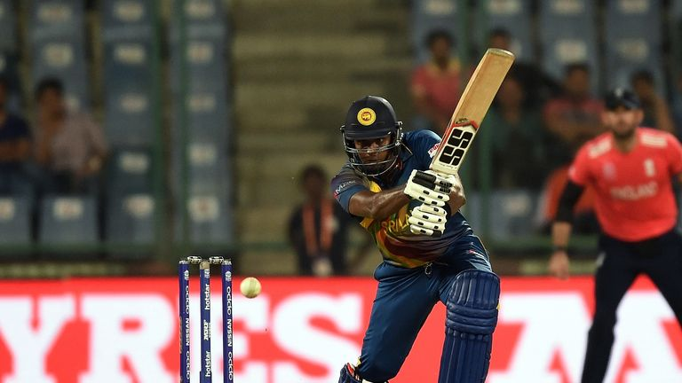 Angelo Mathews almost got the better of England in the World T20