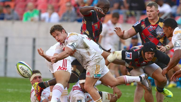Brad Weber scored the match-winning try for the Chiefs
