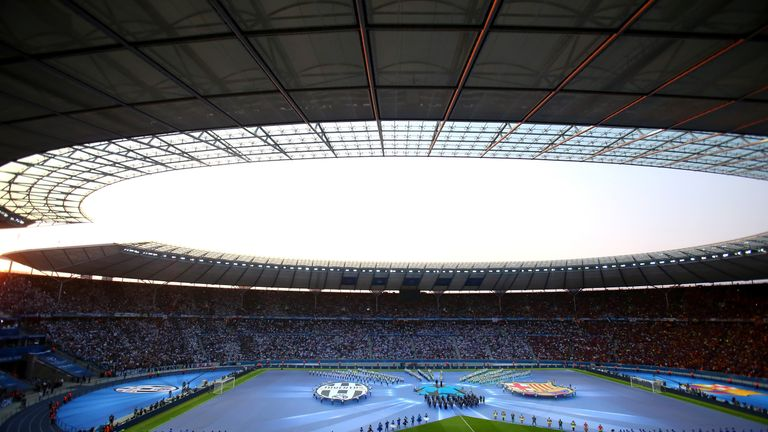 Last year's final was held at the Olympiastadion in Berlin