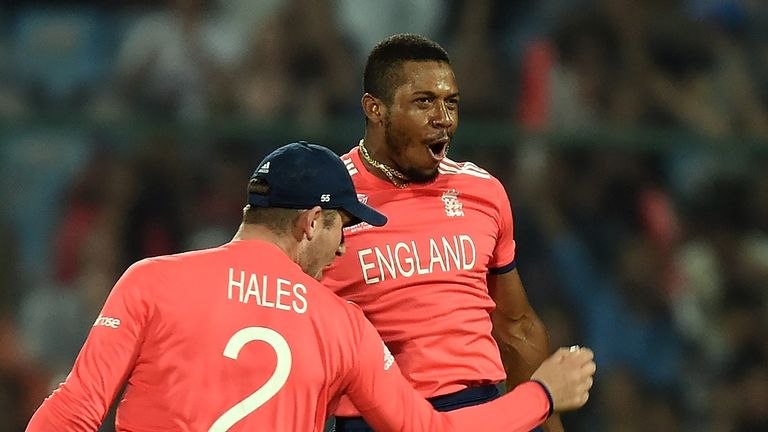 Chris Jordan was a big success for England at the World T20 with his death bowling