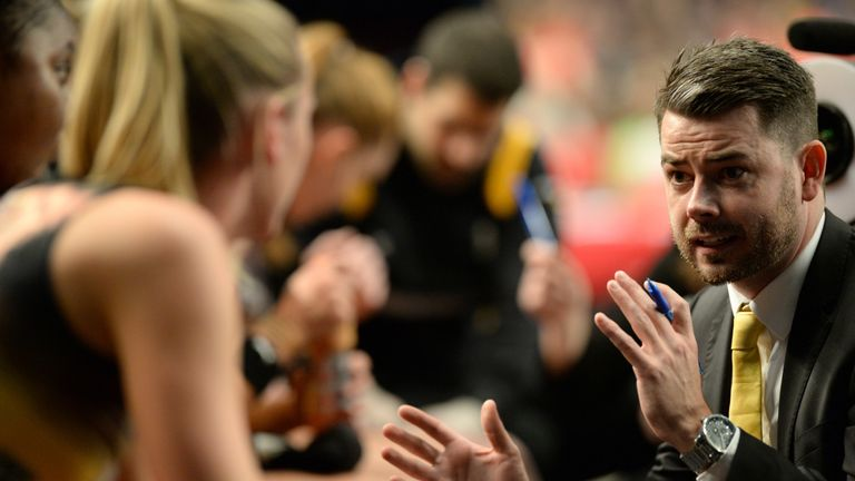 Coach Dan Ryan will be hoping to mastermind a title win for Manchester Thunder