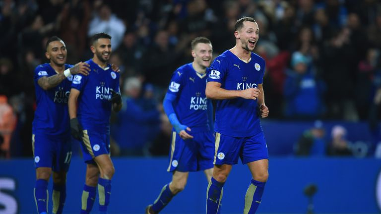 Just seven games separate Leicester from the Premier League title