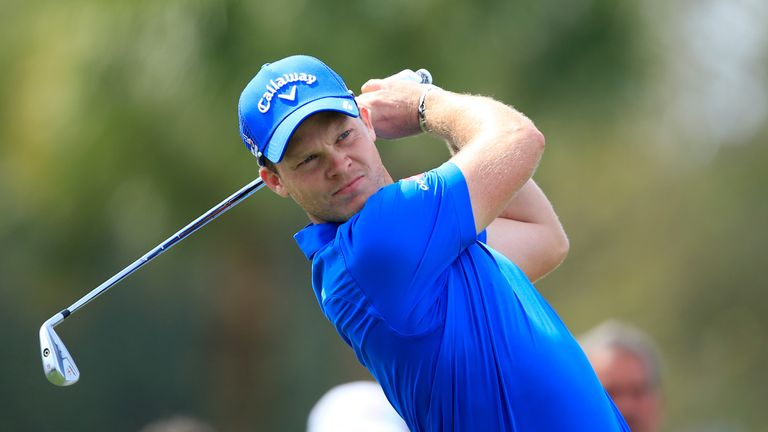 Danny Willett is just three off the pace after a 69