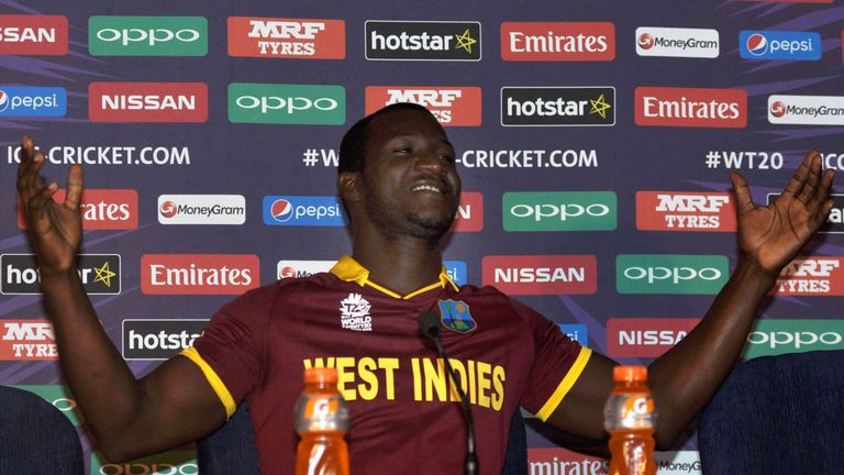 Darren Sammy was critical of the WICB after winning the World T20