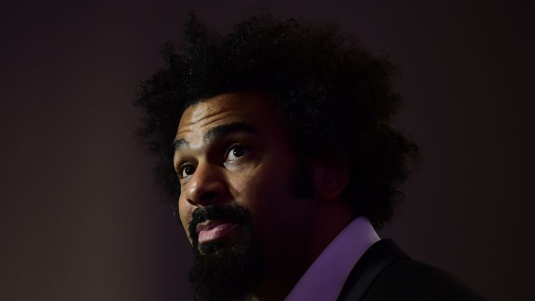 David Haye was quick to congratulate Lucas Browne