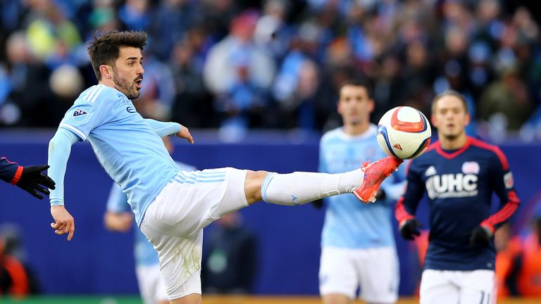 David Villa and Frank Lampard are hoping for another win in MLS