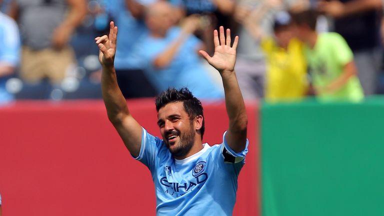 David Villa has enjoyed himself in MLS following his move from La Liga