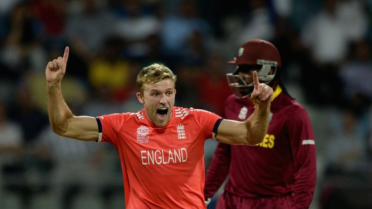 David Willey impressed after a difficult opening at the World T20