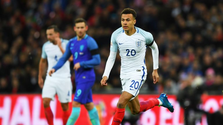 Dele Alli impressed for England during the recent international break