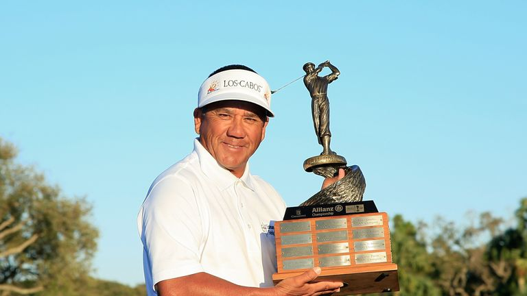 Toledo won his fourth Champions Tour title at the Allianz Championship last month