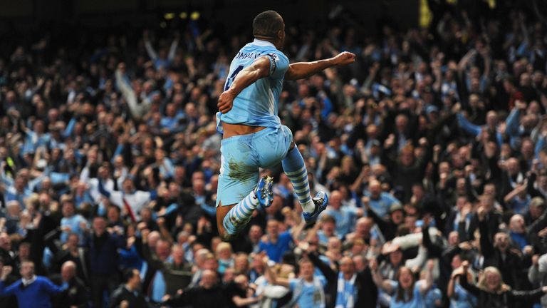 Kompany arrived at City in 2008 from Anderlecht, and it wasn't long before he became a fan favourite