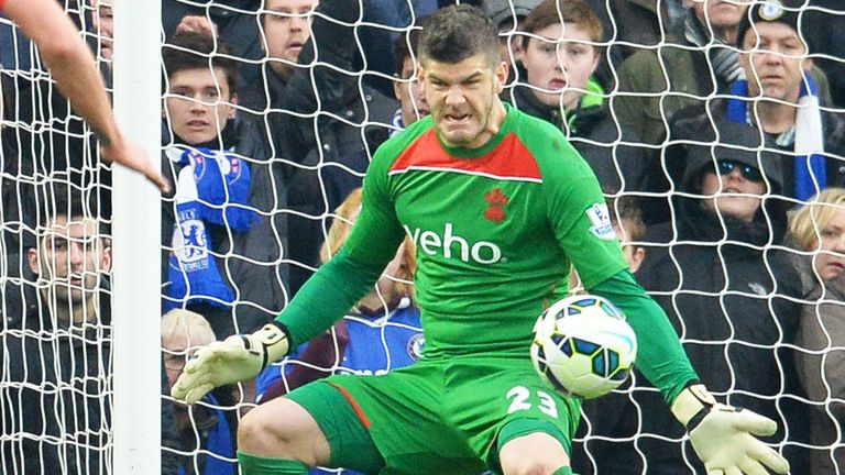 Southampton goalkeeper Fraser Forster is expected to put Hart's status as No 1 under pressure following the Iceland defeat