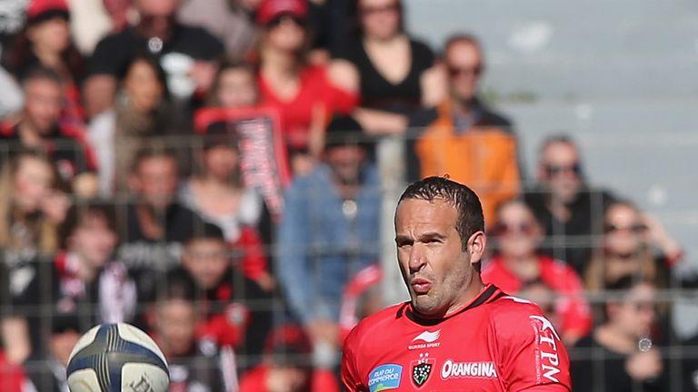 Frederic Michalak is leaving Toulon for Lyon