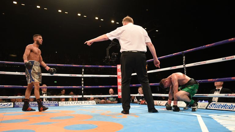 Gamal Yafai took the Commonwealth title from Bobby Jenkinson