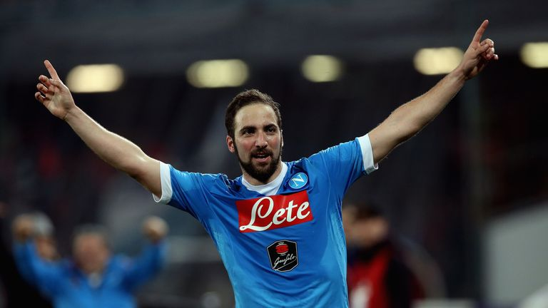Gonzalo Higuain eclipses Luis Suarez as the most expensive striker
