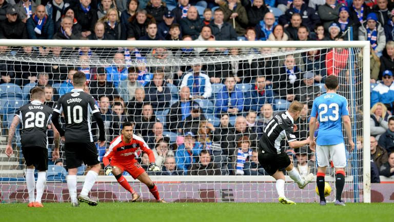 Rangers had led Queen of the South 4-1 but lost two late goals to set up a nervy finish at Ibrox