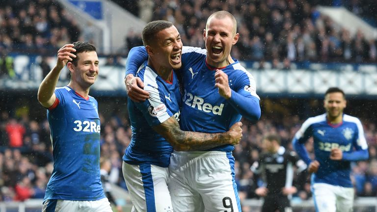 Rangers are now two victories from a guaranteed title win and could win the league as early as next weekend