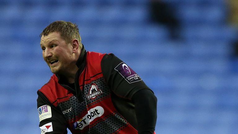 John Andress is leaving Edinburgh at the end of the season