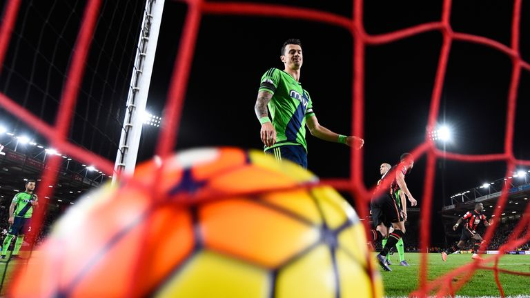 Southampton slumped to a 2-0 loss at Bournemouth in midweek