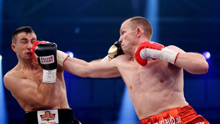 Braehmer (right) beat Eduard Gutknecht last time out