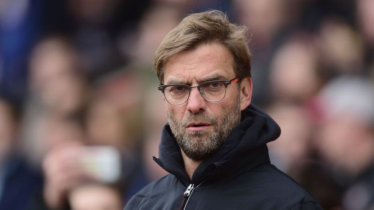 Klopp takes charge of his 39th match as Liverpool boss against Tottenham