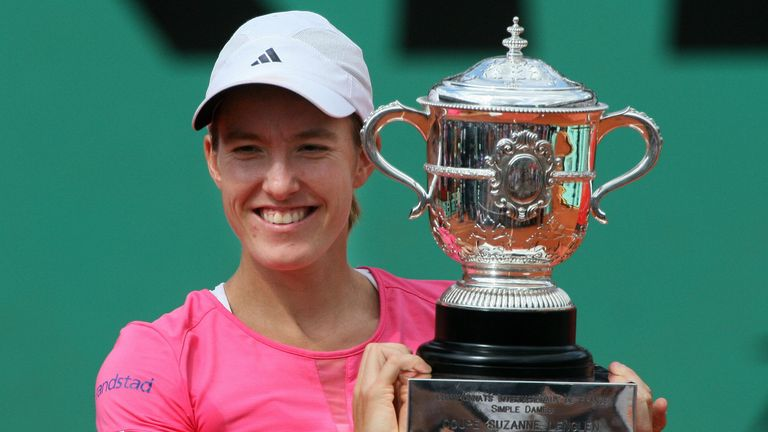 Justine Henin was a four-time winner of the French Open