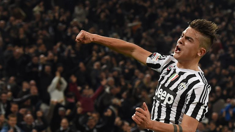 Dybala's goal sent Juve six points clear at the top of the Serie A table