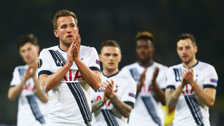 Harry Kane struck twice in a comprehensive win for Spurs over Inter Milan
