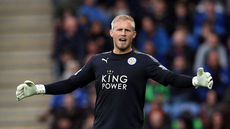 Kasper Schmeichel is hopeful of a very quick recovery after hernia surgery on Monday