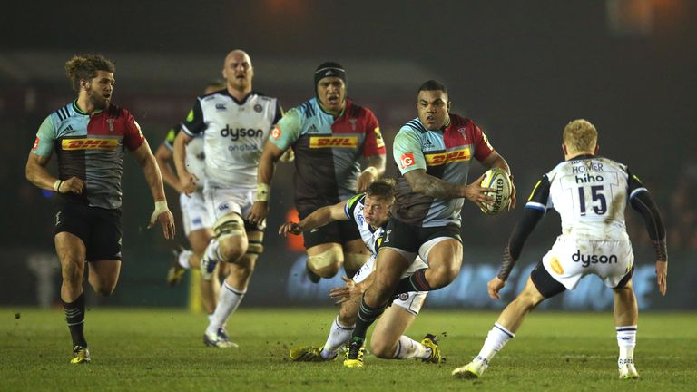 Sinckler has impressed this season for Quins