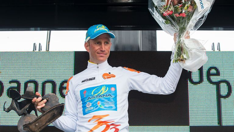 Astana's Lieuwe Westra won the overall race ahead of defending champion Alexander Kristoff