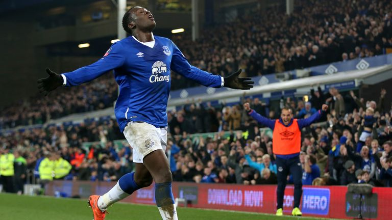 Romelu Lukaku has scored 25 goals for Everton this season
