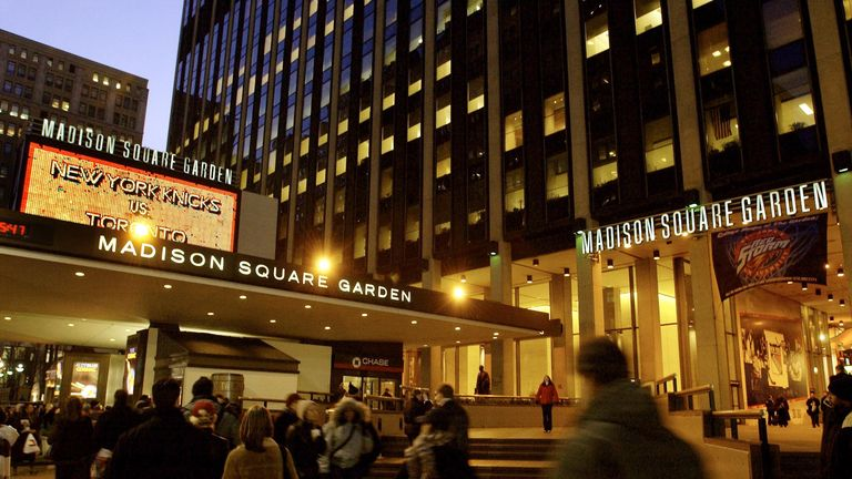 Madison Square Garden has never hosted darts before
