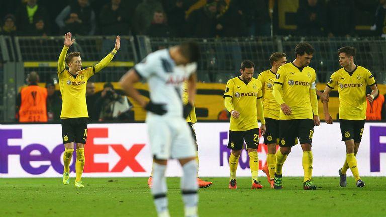 Image result for Tottenham Hotspur 3-0 Borussia Dortmund: