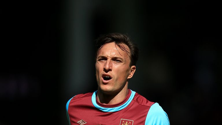 West Ham captain Mark Noble claimed a 6-5 victory in his testimonial match against a West Ham All-Stars team