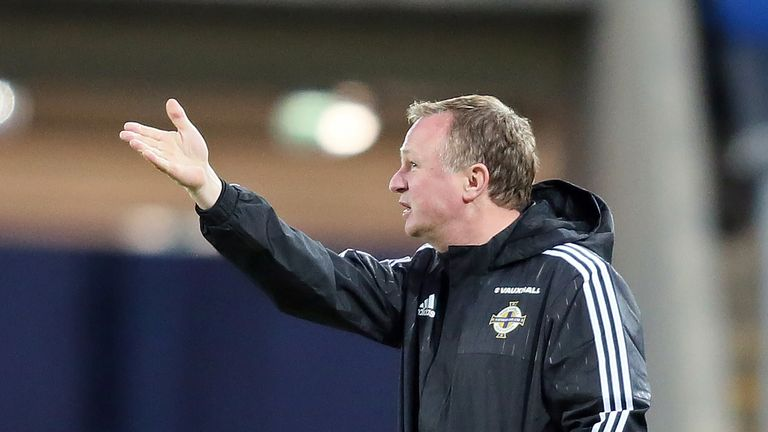 Michael O'Neill has overseen a run of 10 games unbeaten with Northern Ireland