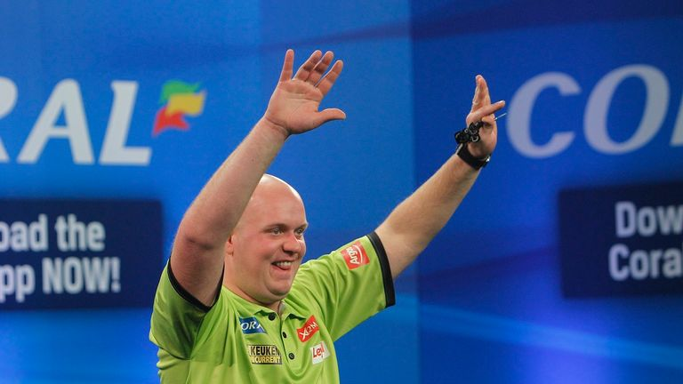 Michael van Gerwen performed another masterclass