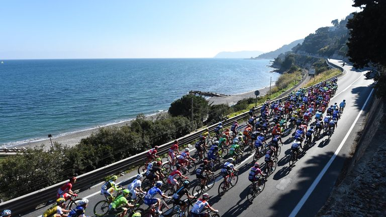 Milan-San Remo is the longest race in professional cycling