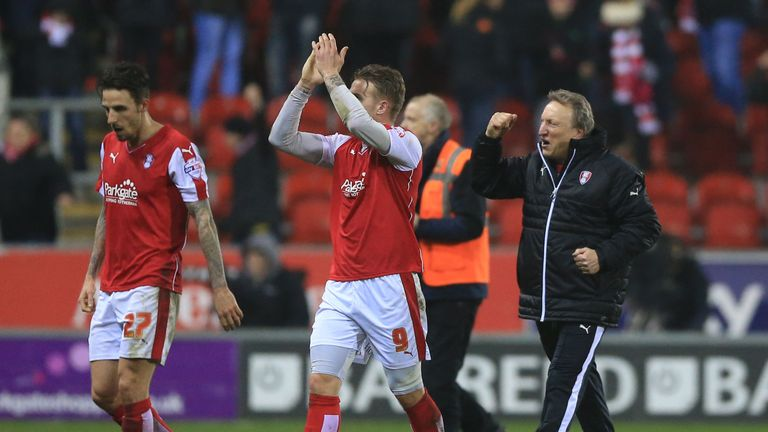 Neil Warnock: Kept Rotherham in the Sky Bet Championship
